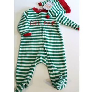 Christmas Sleeper & Hat Set Size 3 Months
